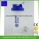 600ml plastic Zwarte het Drinken van de Fles van de Drank van de Klant Fles Shakker