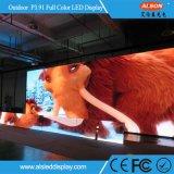 Visualización de LED de alquiler al aire libre de la etapa P3.91 para el sector audiovisual