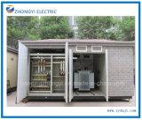 電力配分装置のプレハブのコンパクトな電気変圧器のサブステーション