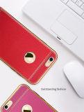 Galvanisierenweicher fester Handy-Fall der striae-TPU für iPhone Zubehör 7/7 Plus/P8 Lite (XSDD-066)
