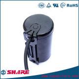 Shell de aluminio de la baquelita del condensador electrolítico del condensador de comienzo CD60