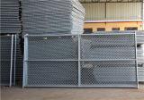 熱浸った米国は一時チェーン・リンクの塀に電流を通した
