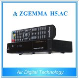 H. 265 Decodificador TV ATSC + DVB S / S2 Zgemma H5. C.A.