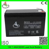 Gel-Leitungskabel-Säure-Batterie 12V 7.0ah Mf nachladbare VRLA Speicher AGM-SLA