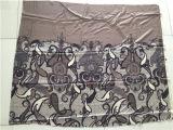 Chiffon impresso do algodão de seda no projeto do lenço