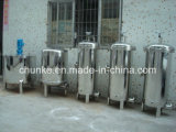 Tipo industrial filtro do saco do aço inoxidável de água para o tratamento da água