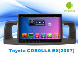 Androides System Car DVD GPS Player für Toyota Corolla ex 9 Inch Touch Screen