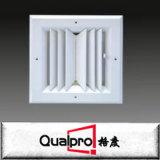 Difusor do quadrado do fluxo de ar, difusor de 4 maneiras