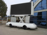 Tablilla de anuncios al aire libre de LED de la venta caliente que hace publicidad del acoplado del carro con P6 P8 P10