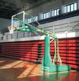 Системы бакборта баскетбола прокладки полиуретана регулируемой высоты электрические гидровлические прочные