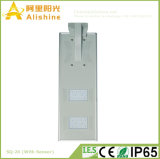 сплав все 20W Alumilum в одном интегрированный уличном свете СИД солнечном с датчиком (5W-120W)