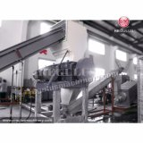 機械をリサイクルするHDPE及びPPのびん洗浄