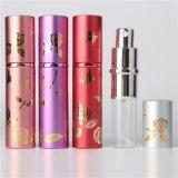 Botella de perfume de aluminio del uso del perfume y del uso industrial del cuidado personal