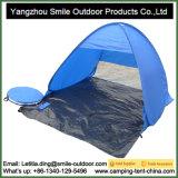 2 رجل رخيصة آليّة [بّق] مستهلكة يخيّم شاطئ ظل خيمة