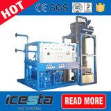 10 Tonnen zylinderförmige hohle Gefäß-Eis-Maschinen-