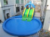 Trasparenza di acqua gonfiabile gigante con il raggruppamento/sosta commerciale gonfiabile dell'acqua