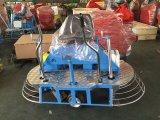 Máquina lisa concreta del flotador concreto, paseo concreto en la paleta de la potencia