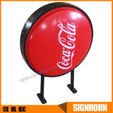 Indoor / Outdoor Waterproof Wall Mounted Round Light Box