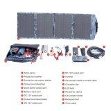 carregador solar Foldable impermeável do fabricante 60W para o acampamento ao ar livre
