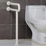 Barras de garra em forma de u de nylon do aço inoxidável do toalete com sustentação do pé