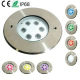 18W RGB LED 수중 수영장 램프