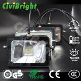 IP65 a prueba de agua del cojín delgado Proyector LED con GS