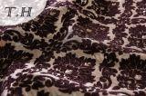 2017 grandi fiori del Brown del tessuto di Chenille fatti in Manufactory cinese