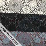 uma variedade de tela de nylon do laço do projeto da flor
