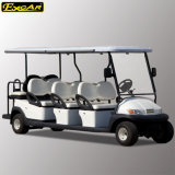 Venta caliente coche eléctrico del golf de barato 8 pasajeros