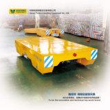 A alta qualidade Bxc-25t morre o vagão Steerable do assoalho do cimento do transporte do trilho