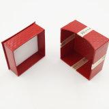 環境に優しいボール紙のビロードの表示ストレージリングの宝石箱(J60-B1)