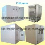 Хранение Coolroom продуктов моря двери блока рефрижерации Monoblock прикрепленное на петлях