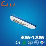 Luz ao ar livre do diodo emissor de luz da rua de 50W 60W 80W