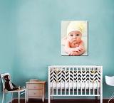 Персонализированная печать холстины фотоего, искусствоо стены объявления фотоего младенца, ребёнка или ребёнка, печатание холстины стены фотоего младенца