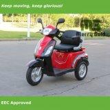500W de elektrische Autoped van de Mobiliteit met Één Zetel voor Gehandicapte Persoon