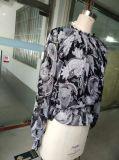 方法緩く長い袖の最新の妖精プリント女性衣服