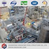 Alto fabbricato industriale della struttura d'acciaio di aumento