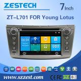 Estéreo audio do carro com versão do Wince para os lótus (ZT-L701)