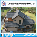 Azulejos de material para techos Piedra-Revestidos del metal de los materiales de la azotea del edificio