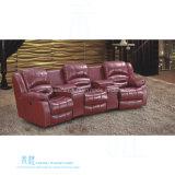 Modernes ledernes Recliner-Sofa für Heimkino (HW-J12S)
