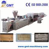 Protuberancia plástica de la producción de la hoja del apartadero del ladrillo del PVC que hace la línea de la máquina