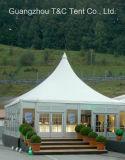 Tienda de aluminio modificada para requisitos particulares de la pagoda del Gazebo del PVC para el banquete de boda del acontecimiento