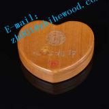 Зеркало деревянного сердца форменный косметическое