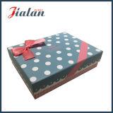Коробка изготовленный на заказ подарка отделки оптовой продажи высокого качества UV бумажная с смычками