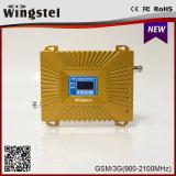 2g/3G/4G 900/2100MHz disponível Dual impulsionador do sinal da faixa para o telefone de pilha