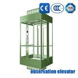 観光のエレベーターのパノラマ式の上昇の観察の上昇