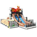 Private Lieferungs-aufblasbares Schloss Inflatalbe Plättchen für Verkauf (HL-9601)