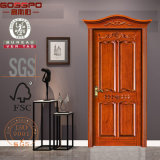 Thailand-Qualitätsfestes Holz-Tür 100% (GSP2-064)