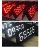 "Outdoor 12 ""Red Color, Regular LED Gas prijs Sign \ Reguliere Station Gas Screen \ LED Registreer Board, 7 Segment van de modules"