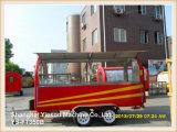 Remorque mobile de camion de nourriture de cuisine de qualité de Ys-FT350b grande